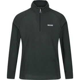 Regatta Montes Fleece LS Top Men deep forest/black